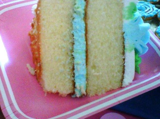 The cake! Team blue!