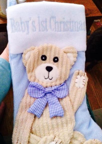 Graham's stocking this year!